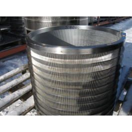 """BASKET SLOTTED 0.008""""  - VOITH 10 V.S. - PRESSURE SCREEN BASKET VOITH 10"""