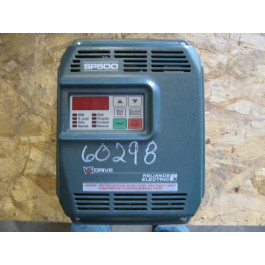 DRIVE - AC - 1 HP - RELIANCE ELECTRIC - SP500 - MODEL: 1SU41001