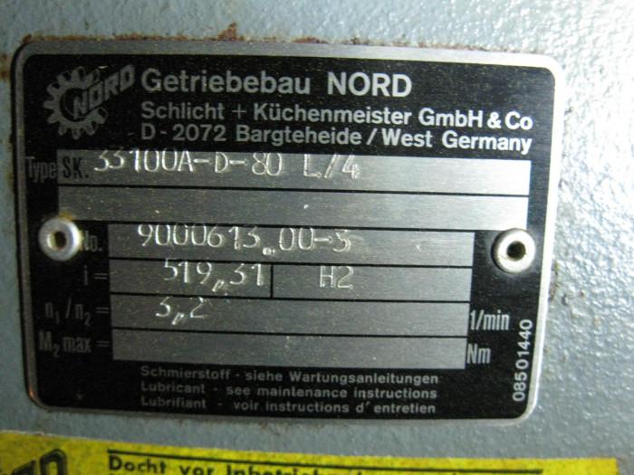 Gearbox motor getriebibau nord 1 hp for Nord gear motor catalogue