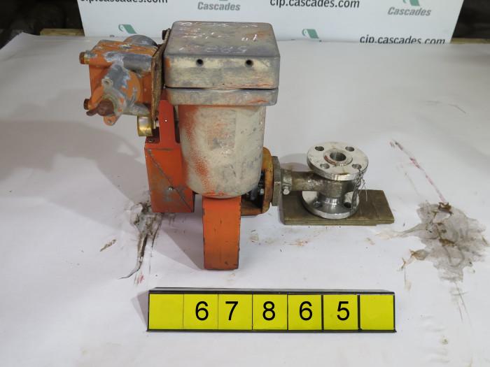 Rotary globe valve masoneilan 35 35202 1 used publicscrutiny Image collections