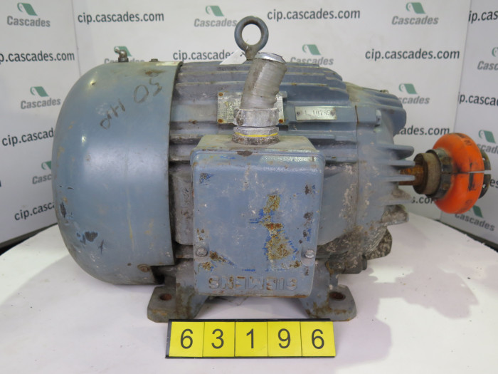 Motor Ac Siemens 50 Hp 3600 Rpm 460 Volts