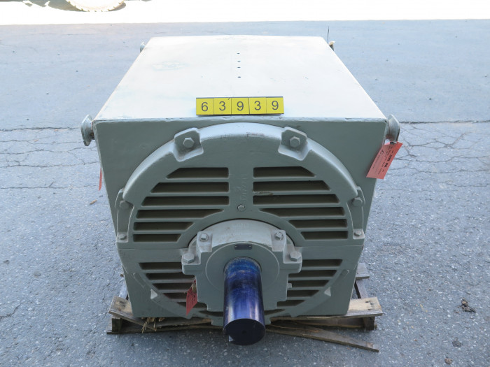 motor ac general electric 500 hp 700 rpm 4160 volts