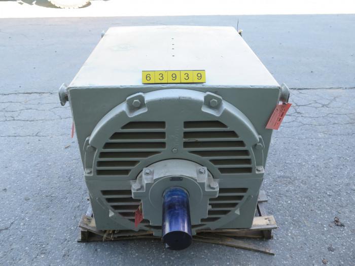 motor ac general electric 500 hp 700 rpm 4160 volts