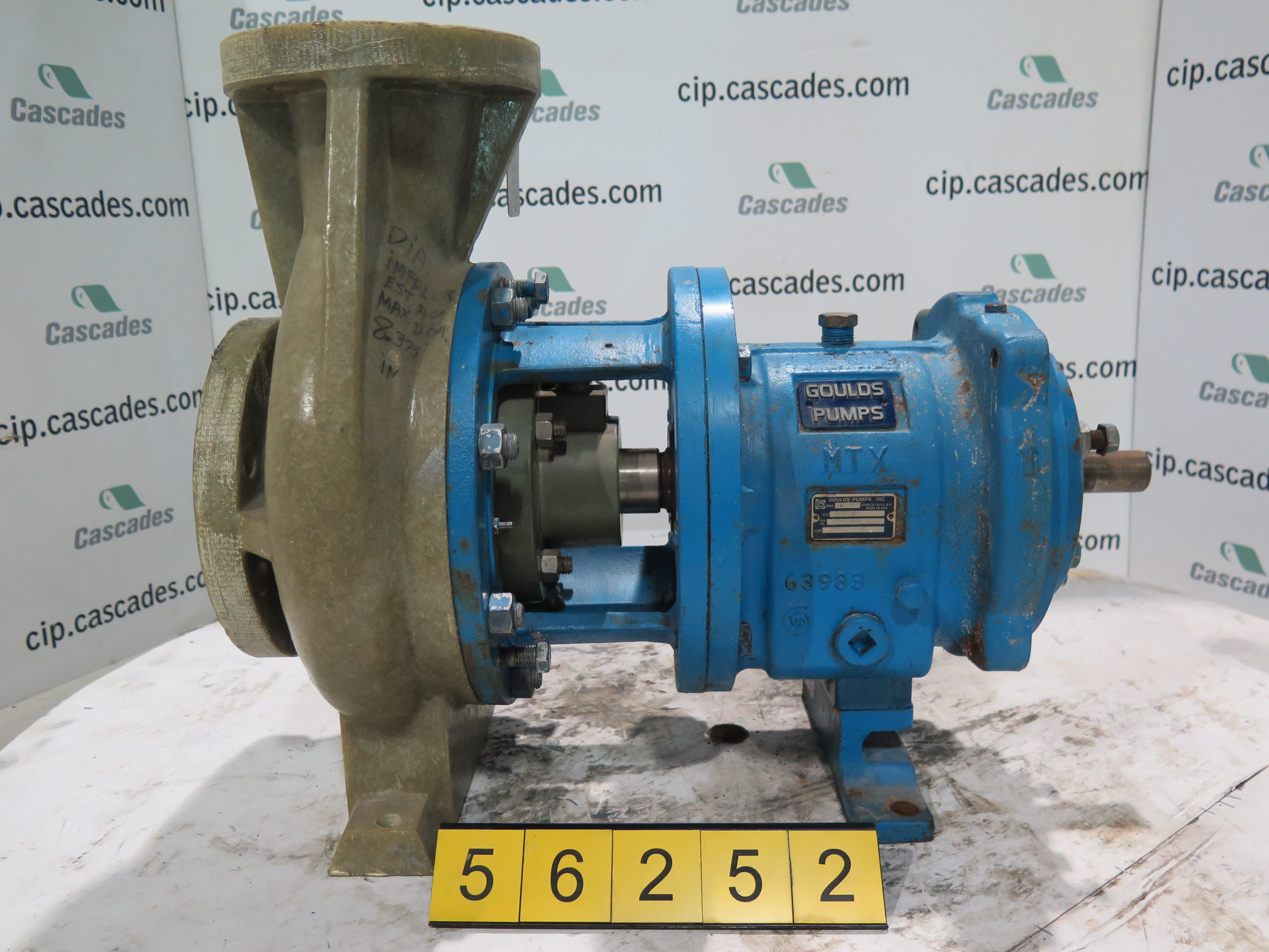 Pump Goulds Nm 3196 Mtx 3 X 4 8g