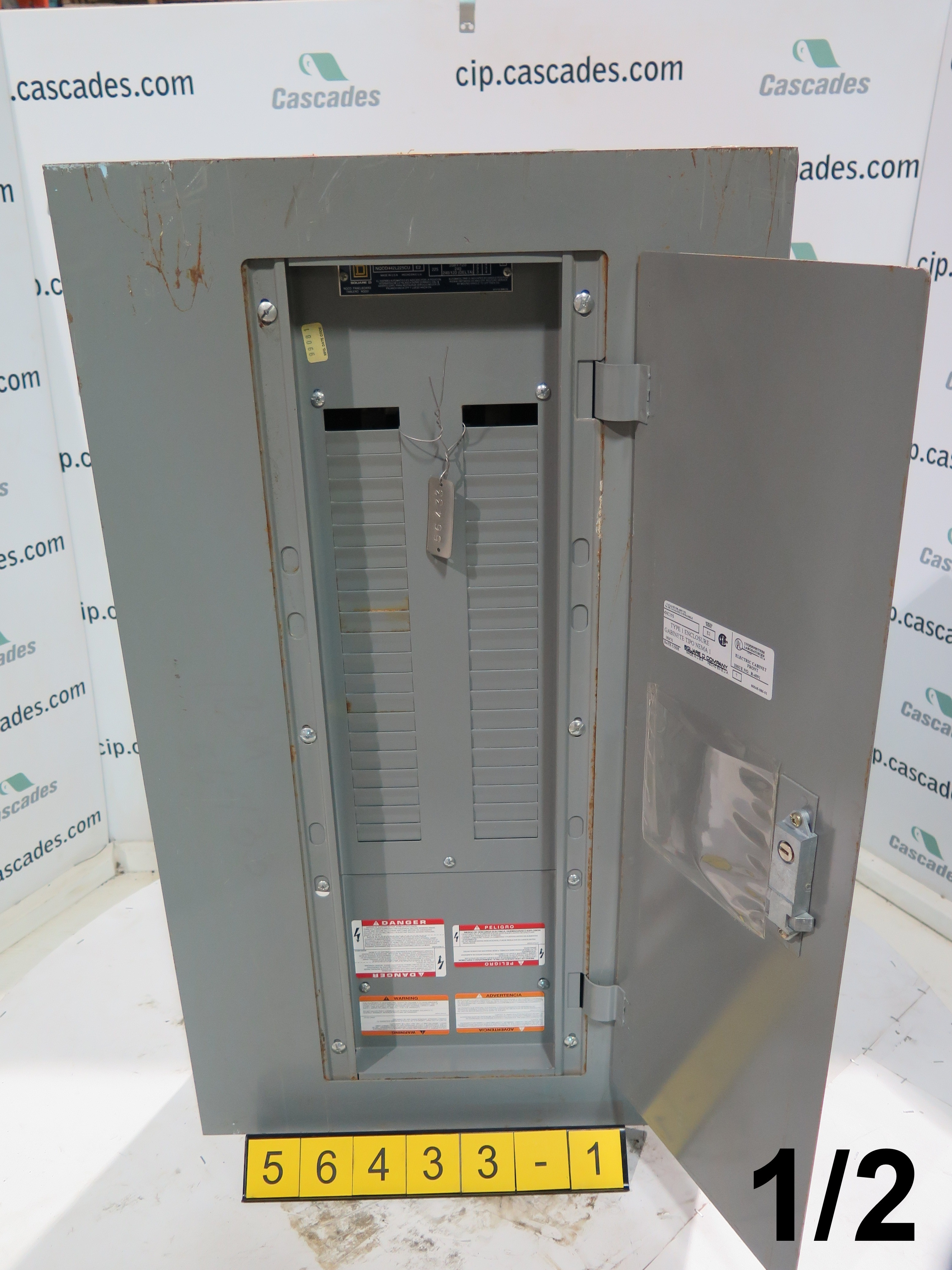 Square D Electrical Breaker Box Need Pix Of Main Wiring Cmain Circuit Br Panel Nqod 442l225cu