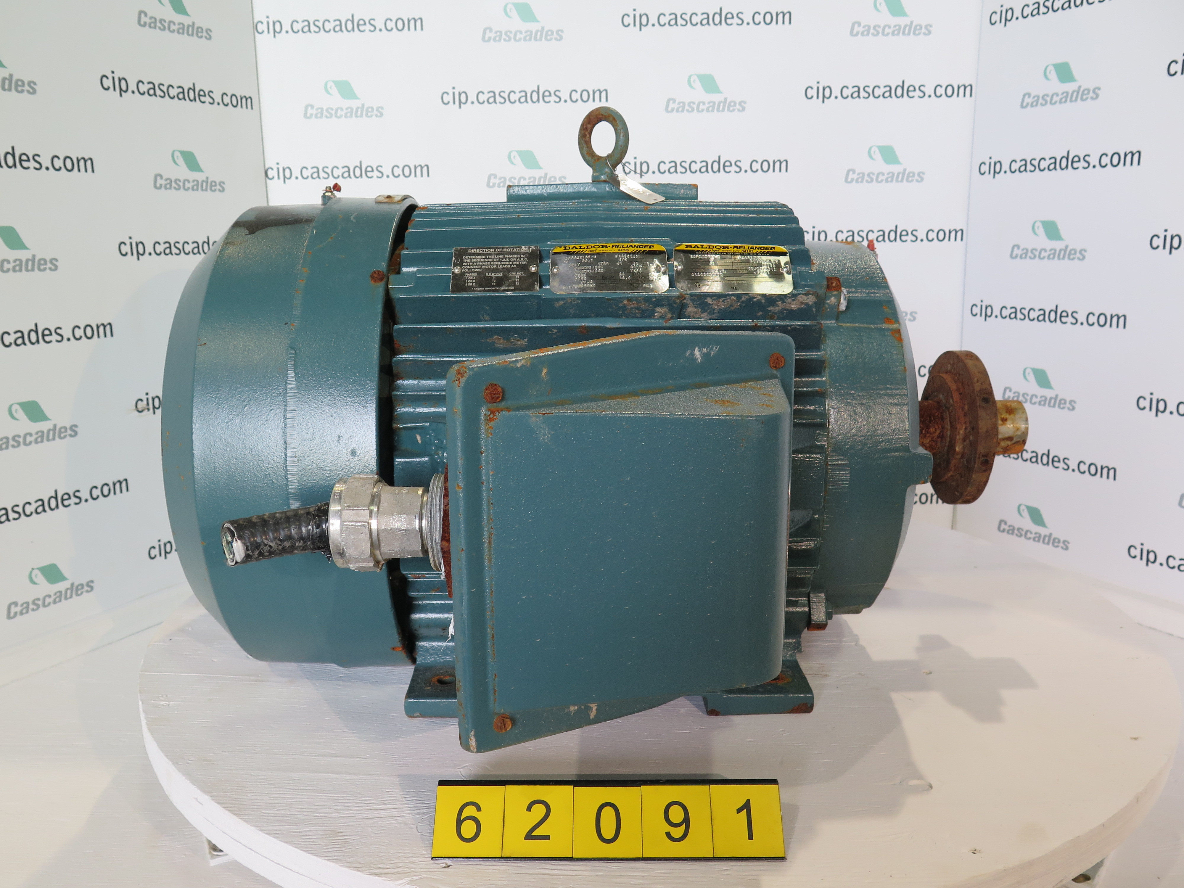 Used Electric Motor Ac Baldor 75 Hp 1800 Rpm 575
