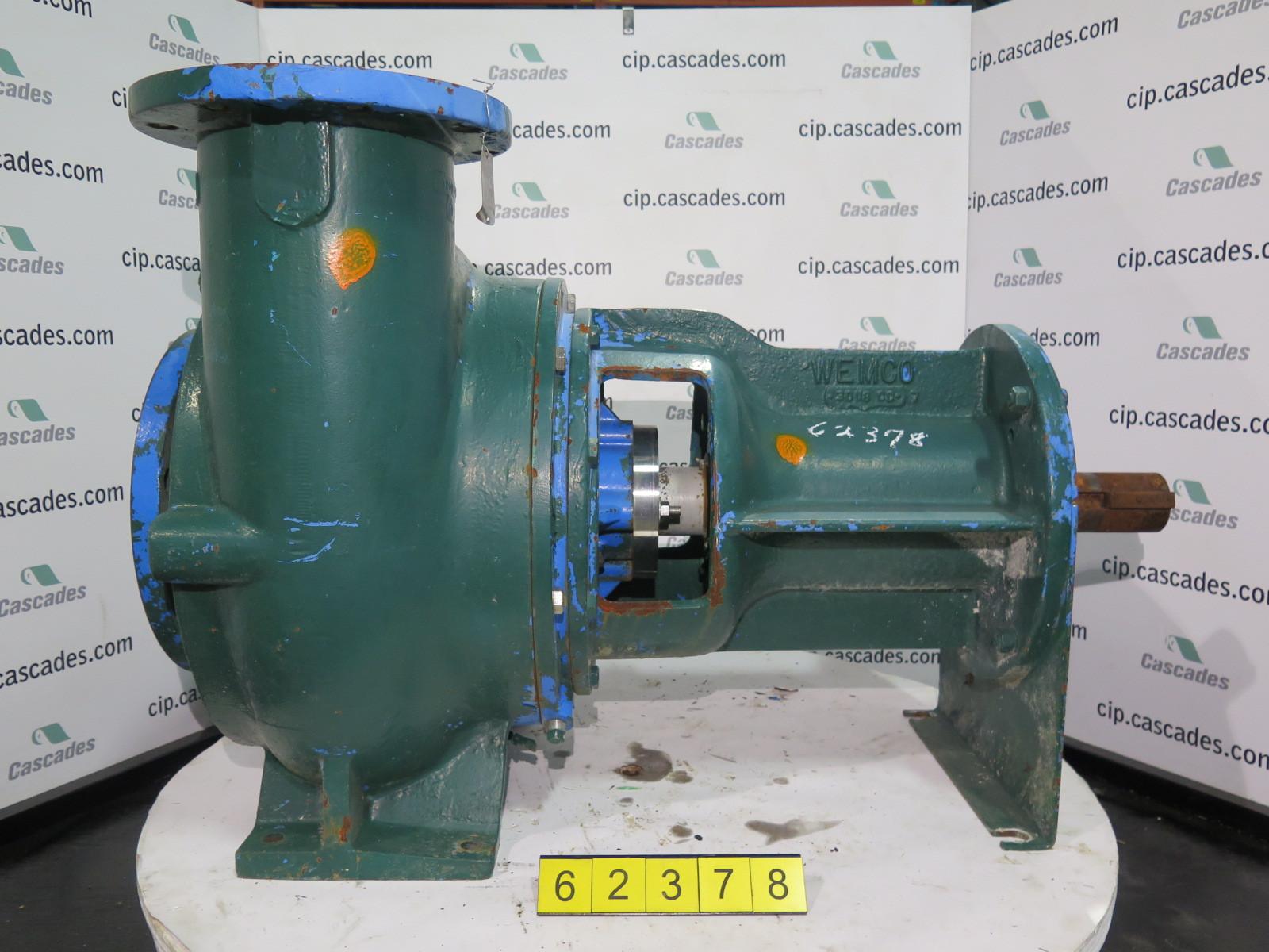 Pump Wemco 8 X 10 17 Recessed Impeller Pump