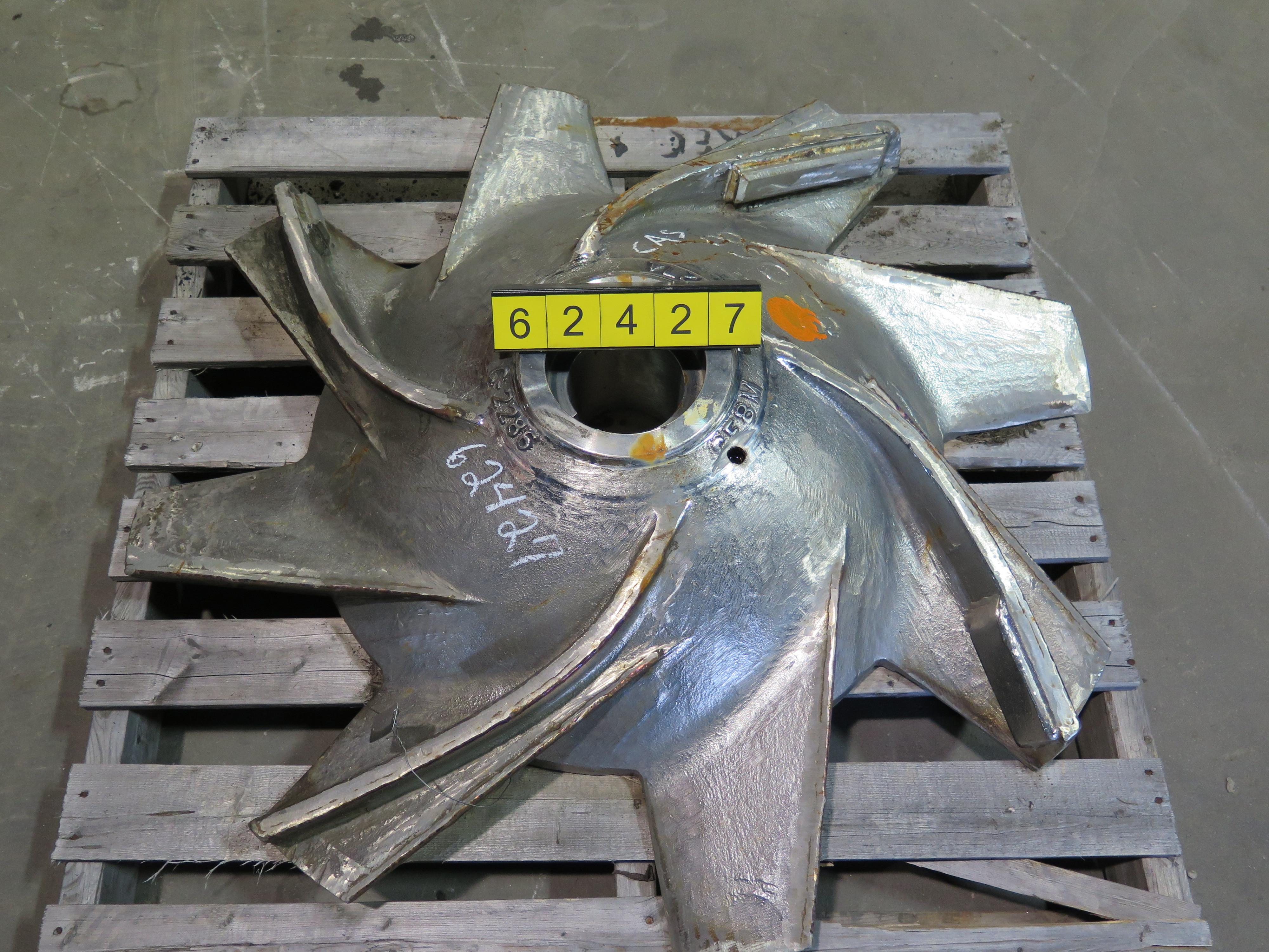 Pulper Rotor Kadant Black Clawson 42 Quot Refurbished