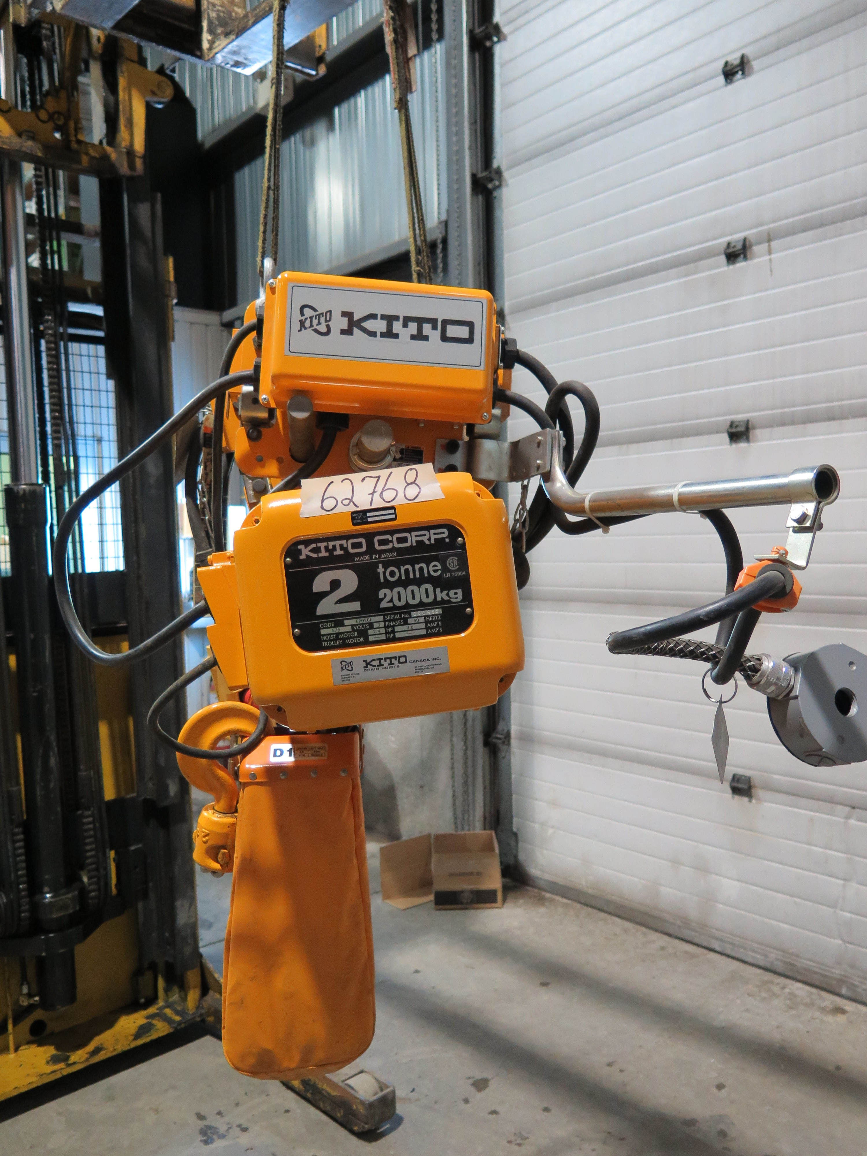 Electric Chain Hoist 2 Ton Kito Er020l