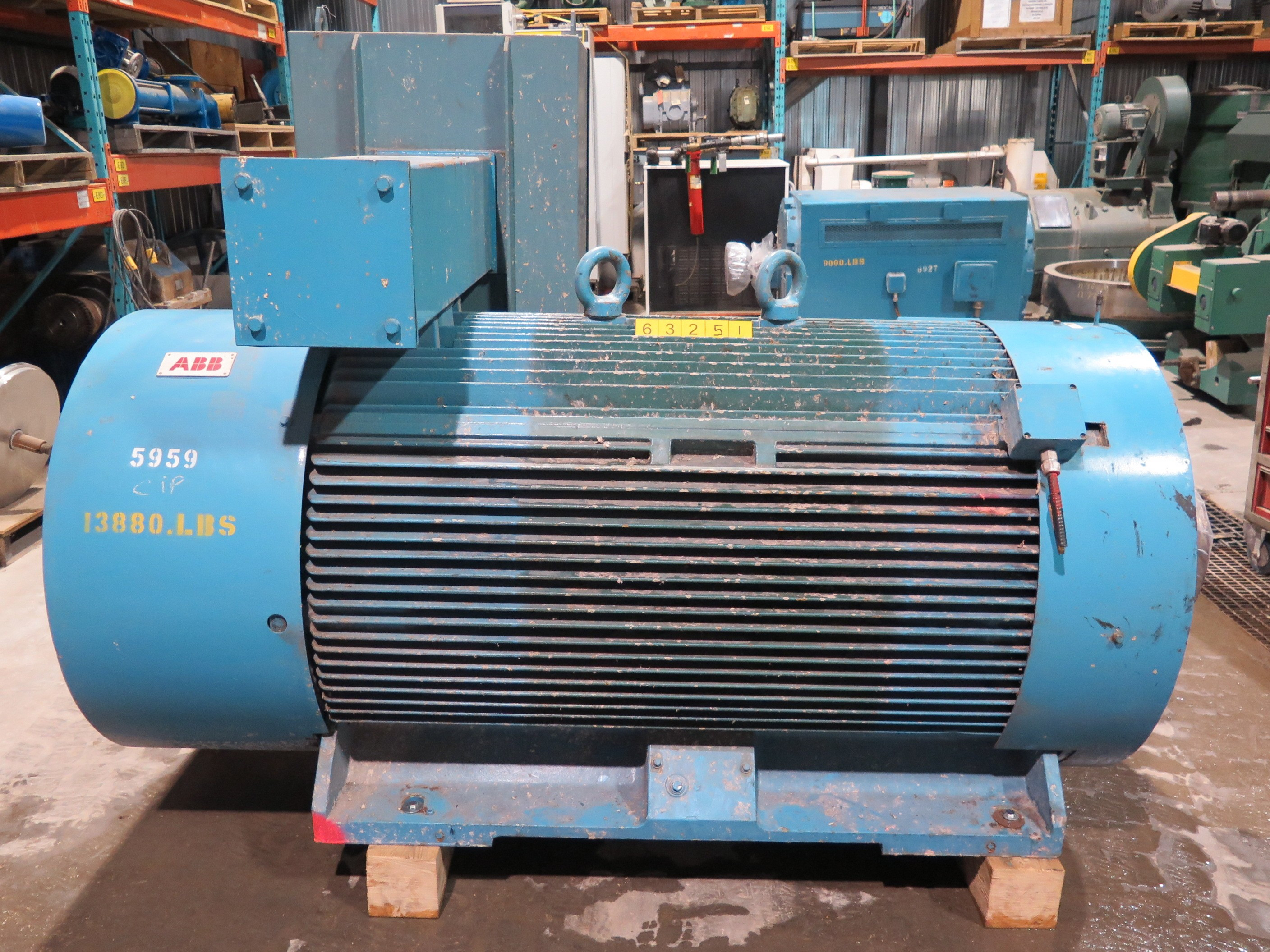 Motor Ac Abb 800 Hp 600 Rpm 2400 Volts