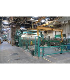 "Kraft Paper Machine - Dominion Engineering & Black Clawson - 151"" Trim - GL&V Headbox and BTF 48 Zones - Fourdrinier Mec-Fab"