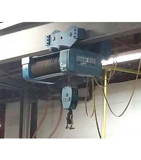 ELECTRIC HOIST - 5 TON - SHAW-BOX - 800 Series