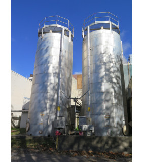 TANK FOR SALE - #6 OIL GRADE BUNKER C FUEL STORAGE TANK - 25000 US GAL