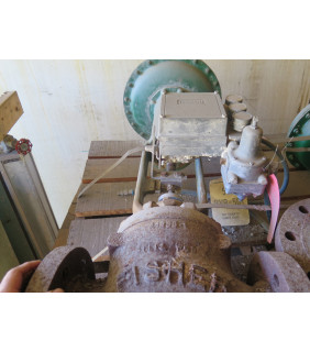 "Pre-Owned - LINEAR - GLOBE VALVE - FISHER - 4"" - FOR SALE"