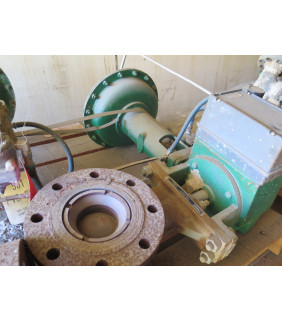 "BALL VALVE - FISHER - 4"" - USED"