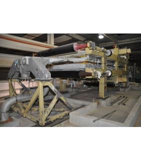 """USED - TWIN WIRE PRESS - FIELDS & BOYD - 80"""" - 200-220 TM/jr - FOR SALE"""