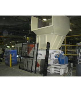 Used Rotary Paper Shredder - Vecoplan - RG42/50 XL - For Sale