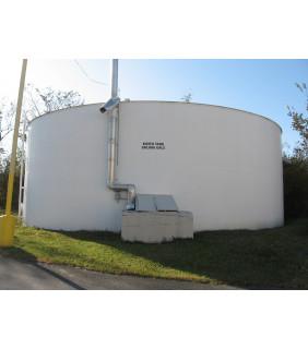 TANK - 250 0000 GAL - 50' X 17' STEEL - WATER TANK