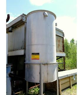 "TANK - 750 GAL - 4' x 8' Stainless Steel (48"" x 96"")"