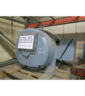 MOTOR - AC - GENERAL ELECTRIC - 40 HP - 1200 RPM - 208-220/440 VOLTS