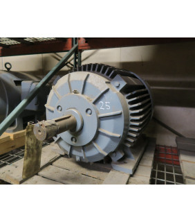 REFURBISHED - MOTOR - AC - RELIANCE - DUTY MASTER - 40 HP - 900 RPM - 220 / 440 VOLTS - FOR SALE