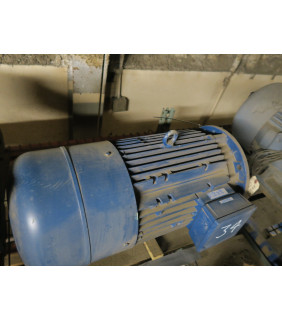 Pre-Owned - BRAKE MOTOR - AC - MUNCK - 25 HP - 550/1740 RPM - 460 VOLTS - FOR SALE