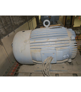 Pre-Owned - MOTOR - AC - TOSHIBA - 40 HP - 3600 RPM - 230/460 VOLTS - FOR SALE