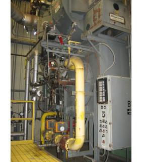 WATER TUBE BOILER - 74 500 LB/H - 250 PSI - NEBRASKA BOILER - MODEL: NS-E-66