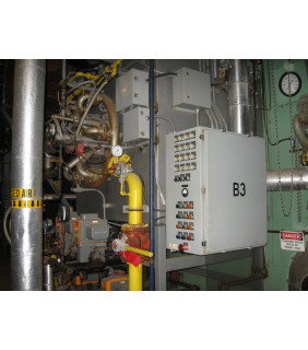 WATER TUBE BOILER - 100 000 LB/H - 250 PSI - NEBRASKA BOILER - MODEL: NS-F-72