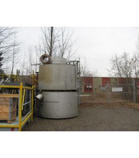 TANK - 1150 GAL - 7' x 4' STAINLESS STEEL