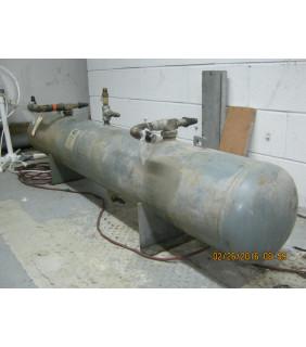 Tank 356 LB (R22) - Liquid Refrigerant Receivers Horizontal - Henry Tech Model: RF-12084