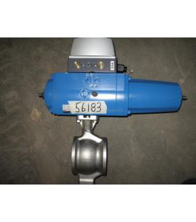 """STORE SURPLUS - V-BALL VALVE - METSO ND9103HN - 2.5"""" - FOR SALE"""