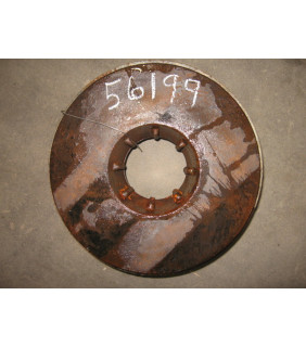 """Item 184: Parts #: RC04048A-1012 - Taper Bore Type - BACK PLATE - GOULDS 3196 MTX - 10"""" -"""