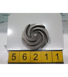 IMPELLER - GOULDS 3196 STX - 1 x 1.5 - 8 - Item 101 - Parts #: 76793-1216