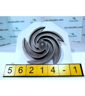 1 OF 3 - IMPELLER - GOULDS 3196 MTX - 1 x 2 - 10 - Item 101 - Parts #: 76797-1013