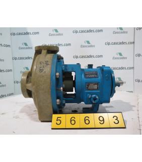 PUMP - GOULDS NM 3196 STX - 1 x 1.5 - 8 - VINYLESTER - Fiberglass - FRP Process Pumps