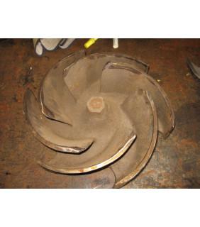 IMPELLER - GOULDS 3196 XLTX - 8 x 10 - 13 - Item 101 - Parts #: 103-612-1203 - Old Style