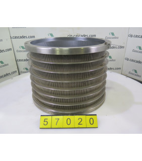 """BASKET PRESSURE SCREEN VOITH 5 - SLOTTED 0.008"""""""