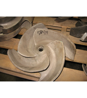 IMPELLER - GOULDS 3175 MT - 8 x 10 - 18H - Item 101 - Parts #: 259-89-1203