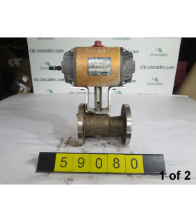 "BALL VALVE - WORCESTER - 2"" - USED - 1 OF 2"