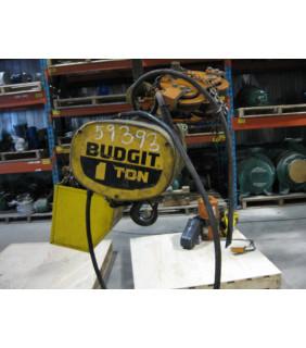 ELECTRIC CHAIN HOIST - 1 TON - BUDGIT - 115845-6