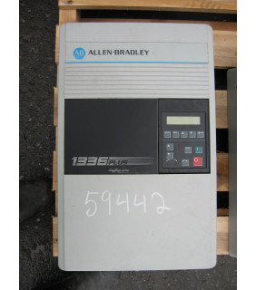 DRIVE - AC - 7.5 HP - ALLEN-BRADLEY - 1336 PLUS - MODEL: 1336S-C007-AN-EN-FR4