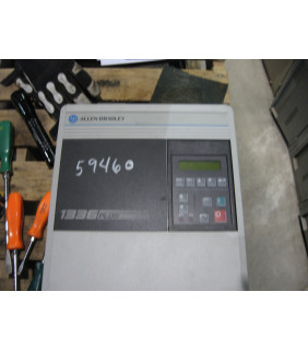 DRIVE - AC - 5 HP - ALLEN-BRADLEY - 1336 PLUS - MODEL: 1336S-CWF50-AN-FR4