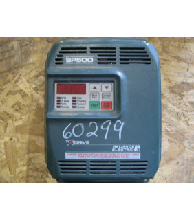 DRIVE - AC - 1 HP - RELIANCE ELECTRIC - SP500 - MODEL: 1SU41001