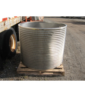 """BASKET SLOTTED 0.008""""  - VOITH 30 V.S. - PRESSURE SCREEN BASKET VOITH 30"""