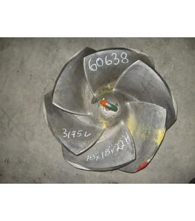 IMPELLER - GOULDS 3175 L - 18 x 18 - 22 - Item 101 - Parts #: 261-26-1203