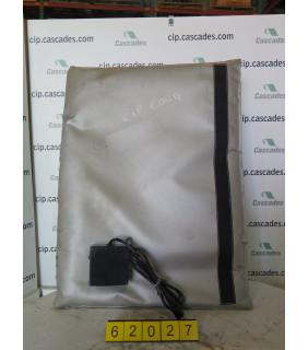 ELECTRIC HEATED BLANKET - For Poly Drums 55 Gal - BRISK HEAT FGPDH Series - Model: FGPDHC55120D