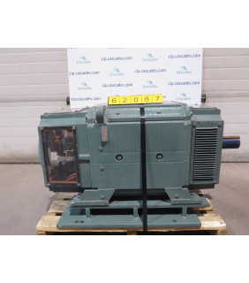 USED DC MOTOR - DC - RELIANCE - 150 HP - 1750 / 2100 RPM - 500 V ARM. - 300 V FIELD - FOR SALE - T36R1303DSE