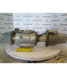 "USED - BASIS WEIGHT VALVE - 8"" - DEZURIK - FOR SALE"