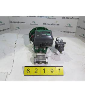 "PLUG VALVE - FISHER MODEL 24548S - 1"" - USED"